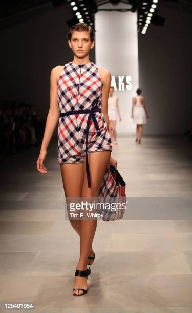 Daks Runway show at London Fashion Week Spring/Summer 2012 at the BFC Space at Somerset House on September 17 2011 in London United Kingdom