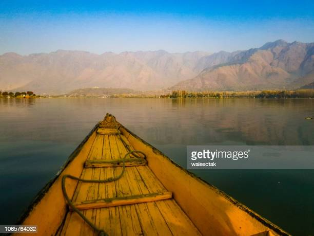 dal lake - kashmir valley stock pictures, royalty-free photos & images