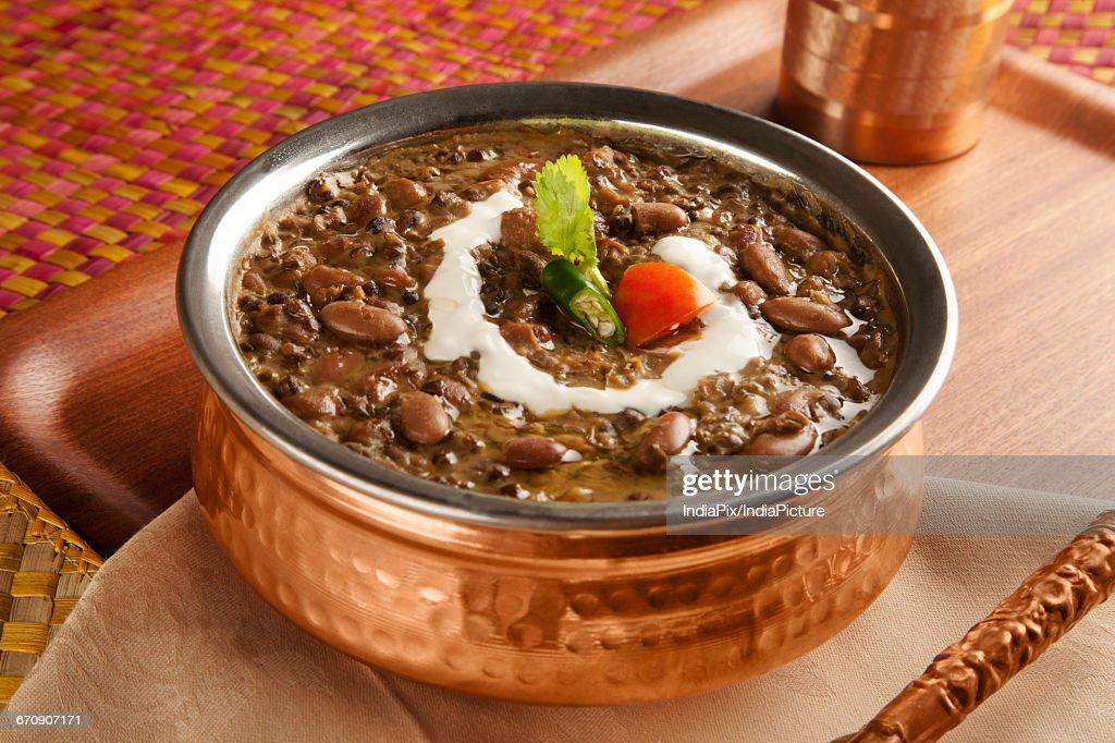 Dal Makhani , indian food : Stock Photo