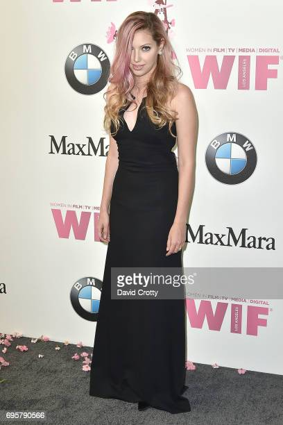 Dalal Bruchmann attends the Women In Film 2017 Crystal Lucy Awards Arrivals at The Beverly Hilton Hotel on June 13 2017 in Beverly Hills California