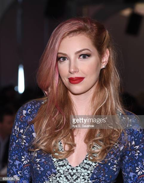 Dalal Bruckmann attends the Yandy Swim Show during New York Fashion Week at Pier 59 on February 14 2017 in New York City