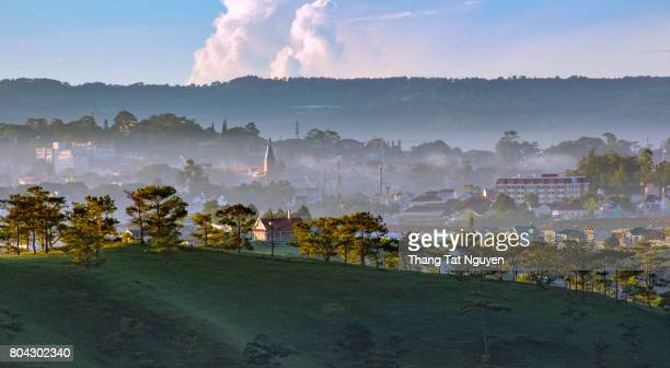 Dalat City, Vietnam, view from top