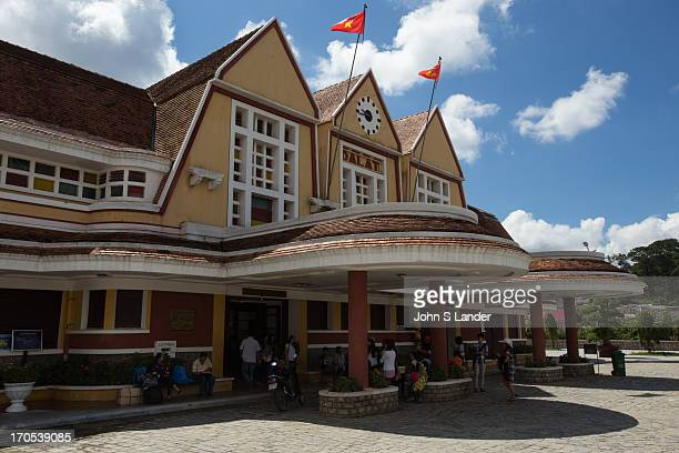 Dalat Railway Station was designed in 1932 by French architects Moncet Reveron The station opened in 1938 to serve travelers coming up to the...