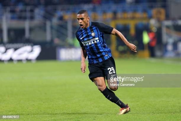 Dalbert of FC Internazionale in action during the Serie A match between FC Internazionale and Ac Chievo Verona Fc Internazionale wins 50 over Ac...