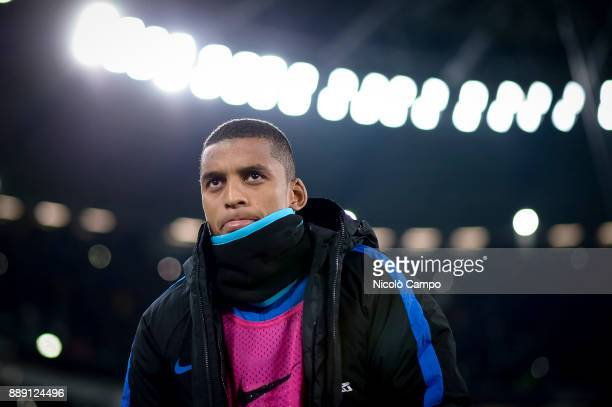 Dalbert of FC Internazionale looks on prior to the Serie A football match between Juventus FC and FC Internazionale The match ended in a 00 tie