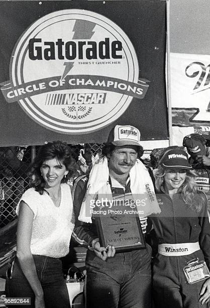 Dale and Teresa Earnhardt celebrate Dale's first win of the year Here is Dale Teresa and Miss Winston after the Miller High Life 400 on February 24...