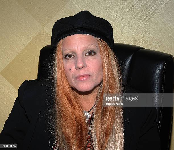 Dale Bozzio attends the 2009 Chiller Theatre Expo at the Hilton on April 17 2009 in Parsippany New Jersey