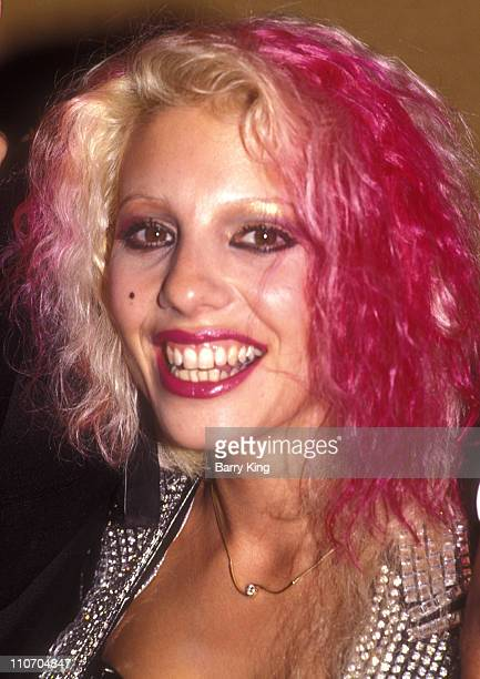 Dale Bozzio of Missing Persons during 2nd Annual American Video Awards at Wilshire Ebell Theater in Los Angeles California United States