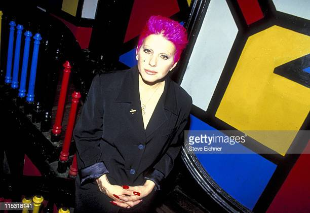 Dale Bozzio of Missing Persons during Dale Bozzio at Limelight 1994 at Limelight in New York City New York United States
