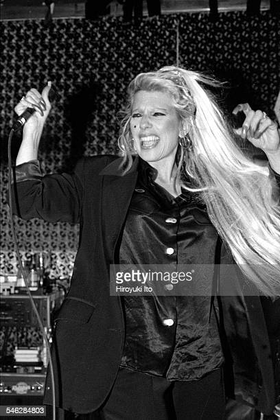 Dale Bozzio performing at Shine on April 22 1998