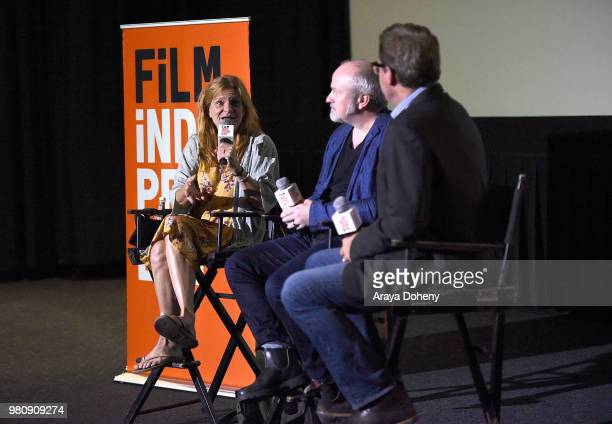 Dale Dickey Michael McDonough and Josh Welsh attend Film Independent hosts special screening of 'Leave No Trace' at ArcLight Hollywood on June 21...