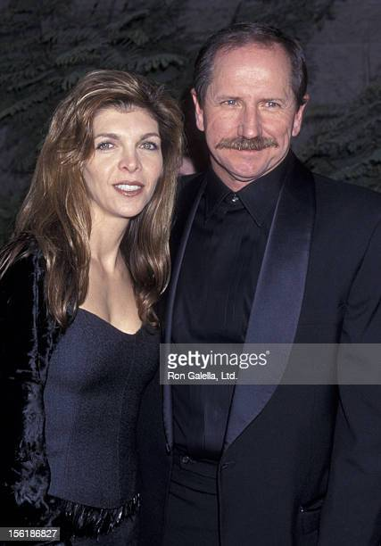 Dale Earnhardt and wife Teresa Houston attend Eighth Annual ESPY Sports Awards on February 14 2000 at the MGM Grand Hotel and Casino in Las Vegas...