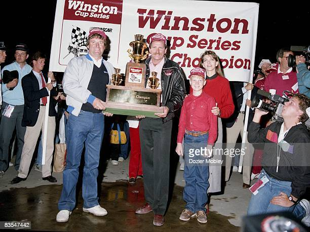 159 Dale Earnhardt Teresa Earnhardt Photos And Premium High Res Pictures Getty Images Dale earnhardt drove nascar from its southern good ol' boy roots into a national obsession at 200 mph and a tankful of menace. 2