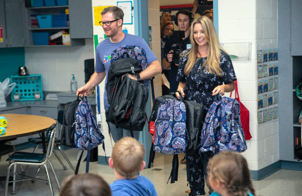 NC: Vera Bradley x Blessings In A Backpack Event With Dale & Amy Earnhardt