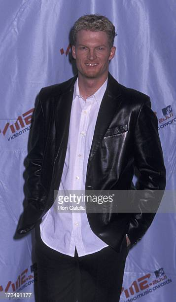 Dale Earnhardt Jr attends 18th Annual MTV Video Music Awards on September 6 2001 at the Metropolitan Opera House in New York City