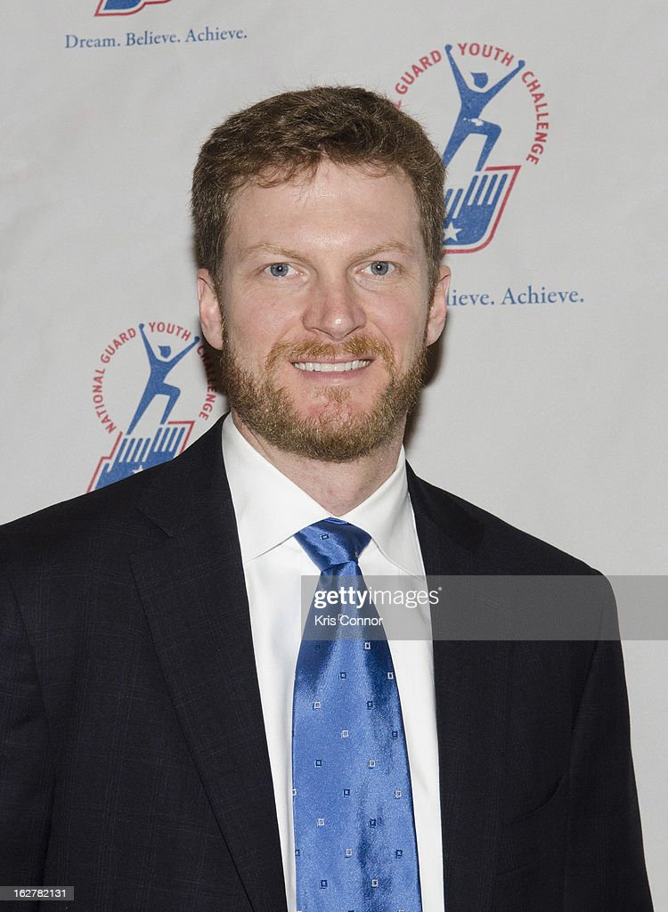 Dale Earnhardt Jr attends the 2013 ChalleNGe Champions Gala at JW Marriott Hotel on February 26, 2013 in Washington, DC.
