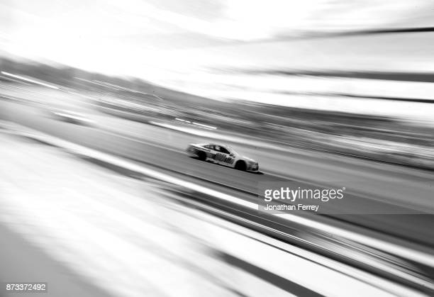 Dale Earnhardt Jr driver of the Nationwide Chevrolet during the Monster Energy NASCAR Cup Series CanAm 500 at Phoenix International Raceway on...