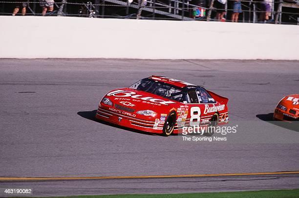 Dale Earnhardt Jr drives his car during the Daytona 500 at the Daytona International Speedway on February 16 2001 in Daytona Beach Florida