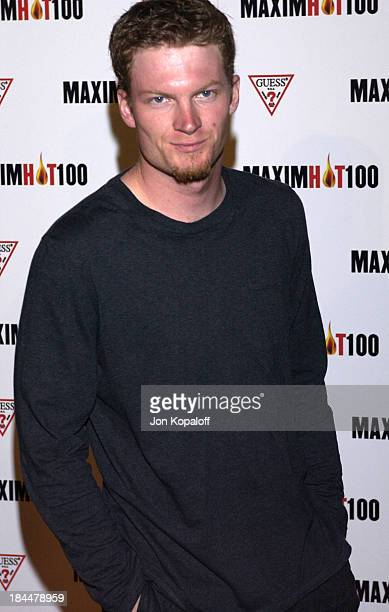 Dale Earnhardt Jr during Maxim Hot 100 Party Arrivals at Yamashiro in Hollywood California United States