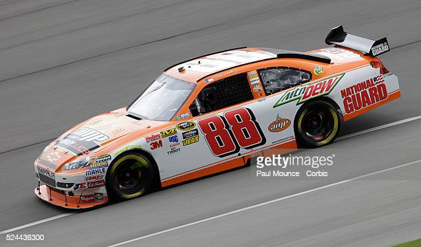 Dale Earnhardt Jr in the AMP Energy Juice / National Guard Chevy during the Auto Club 500