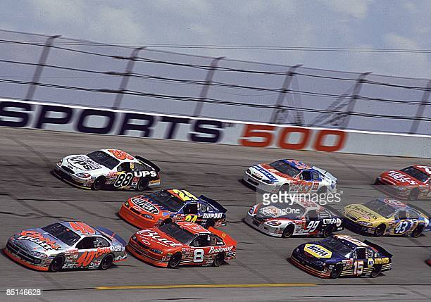 Dale Earnhardt Jr won the EA Sports 500 on October 6 2002 at the Talladega Speedway in Talladega Alabama