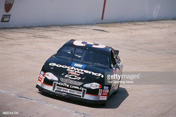 Dale Earnhardt of the car drives during the GoRacingcom 500 Qualifying on August 24 2000 in Bristol Tennessee
