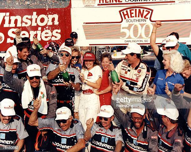 Dale Earnhardt stormed to his second win of 1990 with his victory in the Southern 500 at Darlington Raceway on Septmber 2 1990 in Darlington South...