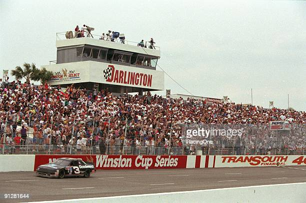 Dale Earnhardt's 74 second win over Mark Martin in the 1994 TranSouth Financial 400 was his ninth win at Darlington Speedway one shy of David...