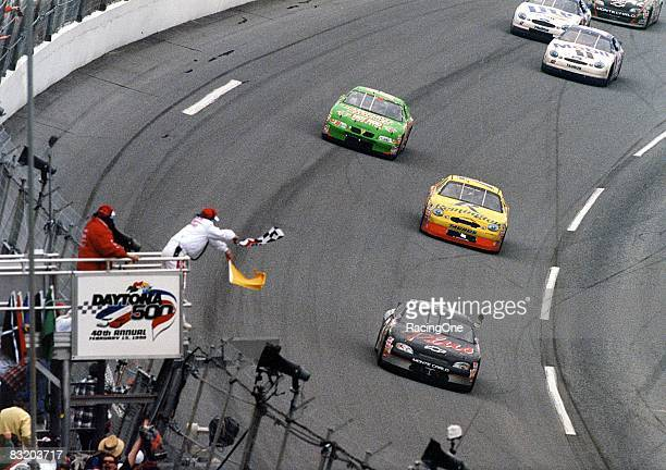 Dale Earnhardt's '98 Daytona 500 win also marked the 40th running of stock car racing's most prestigious event and NASCAR's 50th anniversary