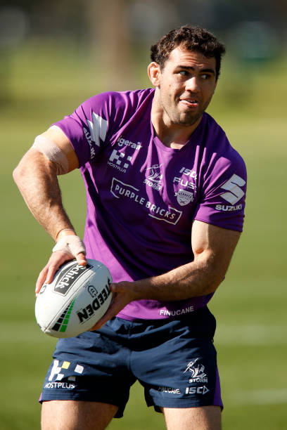 AUS: Melbourne Storm Training Session