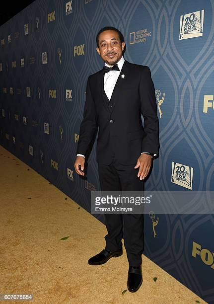 Dale Godboldo attends the FOX Broadcasting Company FX National Geographic And Twentieth Century Fox Television's 68th Primetime Emmy Awards after...