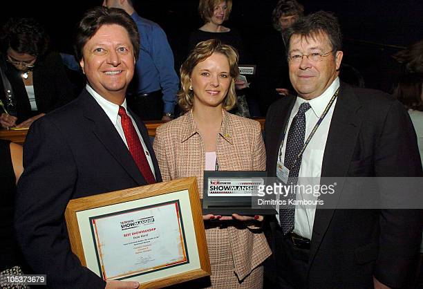 Dale Hurst Dana Hayes and Robert Dowling during 2004 ShoWest The 23rd Annual Hollywood Reporter Showmanship Awards at Paris Hotel Theatre Des Arts in...