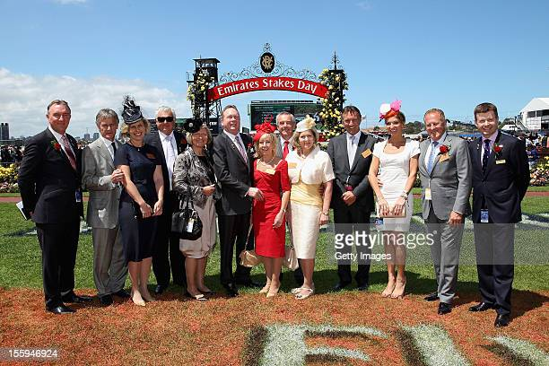 VRC CEO Dale Monteith and Black Caviar connections Neil Werrett Lena Attebo Barry Hawkes Pam Hawkes Garry Wilkie Kerrin Wilkie Colin Madden Jannene...