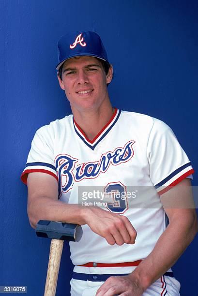Dale Murphy of the Atlanta Braves poses for a portrait in 1983