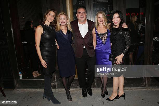 Dale Noelle Leesa Rowland Dr Christopher Calapai Cindy Guyer Jane Scher attend 25A and Metropolitan Magazine Cover Stars Dr Christopher Calapai Dale...