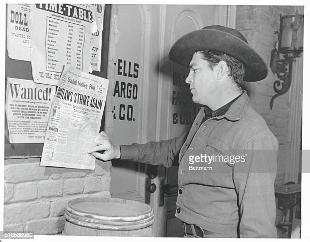 Dale Robertson in Tales of Wells Fargo an authentic western dramatic series based on the historical express company that played such a significant...