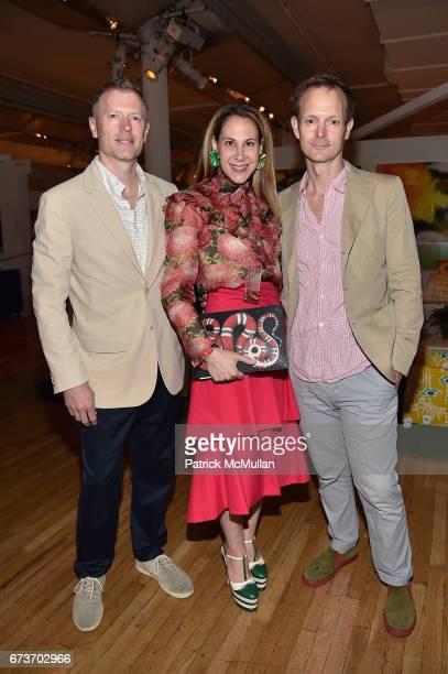 Dale Saylor Alyson Cafiero and Joe Williamson attend Housing Works' Groundbreaker Awards Dinner 2017 at Metropolitan Pavilion on April 26 2017 in New...