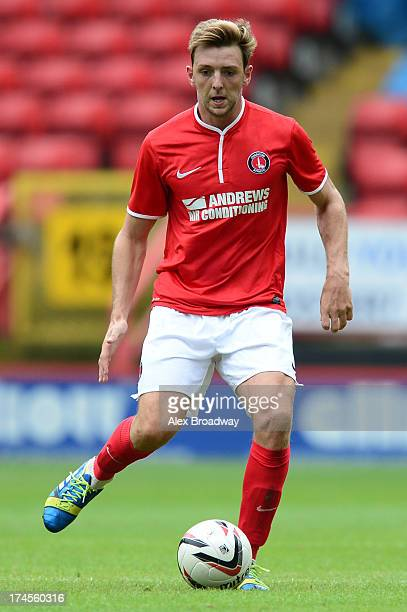 Dale Stephens of Charlton in action during the Pre Season Friendly match between Charlton Athletic and Inverness Caledonian Thistle at the Valley on...