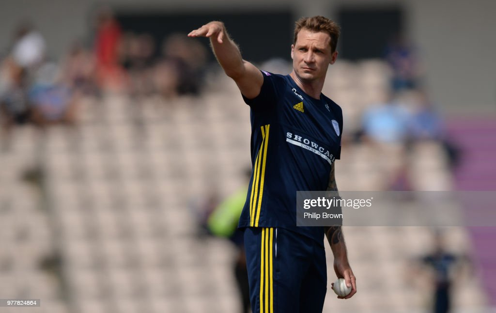 Hampshire v Yorkshire Vikings - Royal London One-Day Cup Semi Final : News Photo
