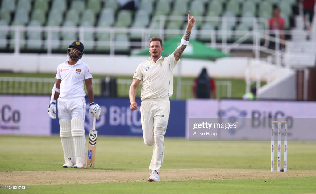 South Africa v Sri Lanka- 1st Test : News Photo