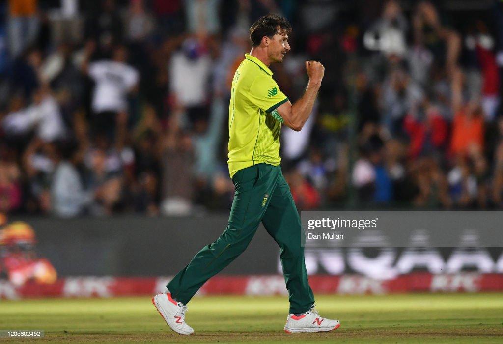 South Africa v England - 1st T20 International : News Photo