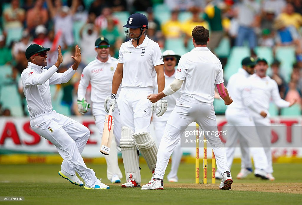 South Africa v England - First Test: Day One