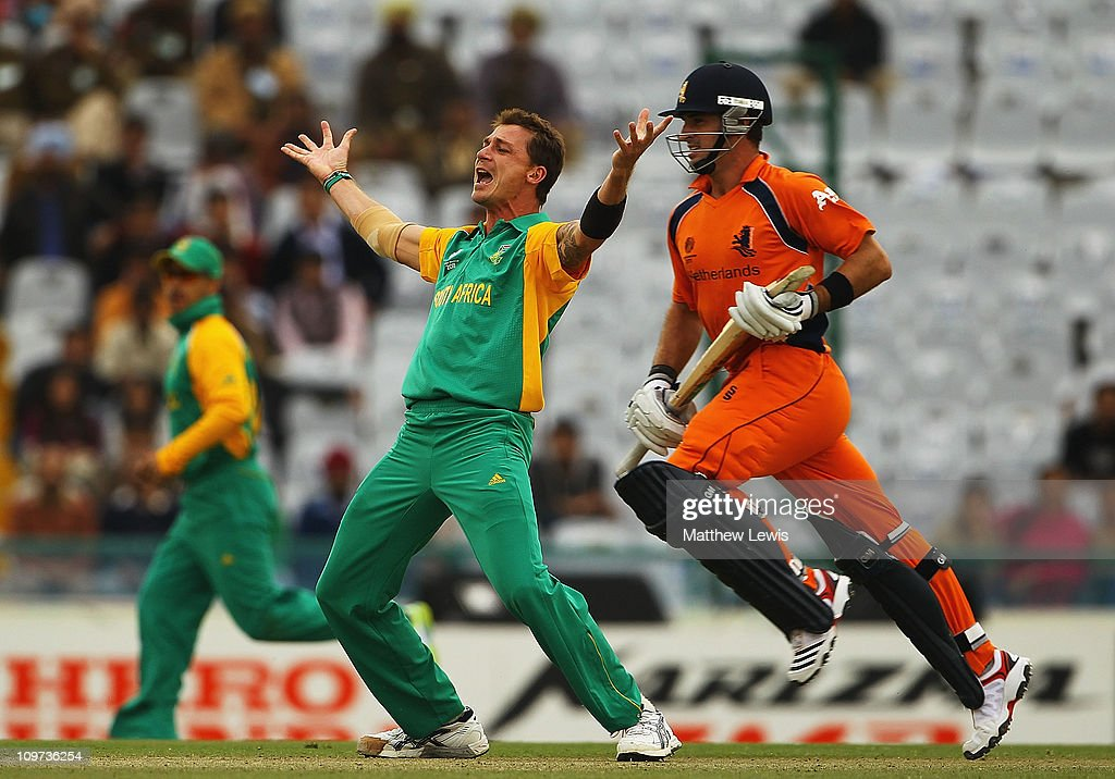 Netherlands v South Africa: Group B - 2011 ICC World Cup