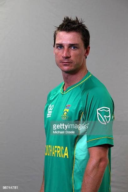 Dale Steyn of South Africa ICC T20 World Cup squad on April 29 2010 in Bridgetown Barbados