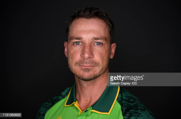 Dale Steyn of South Africa poses for a portrait prior to the ICC Cricket World Cup 2019 at on May 22 2019 in Cardiff Wales