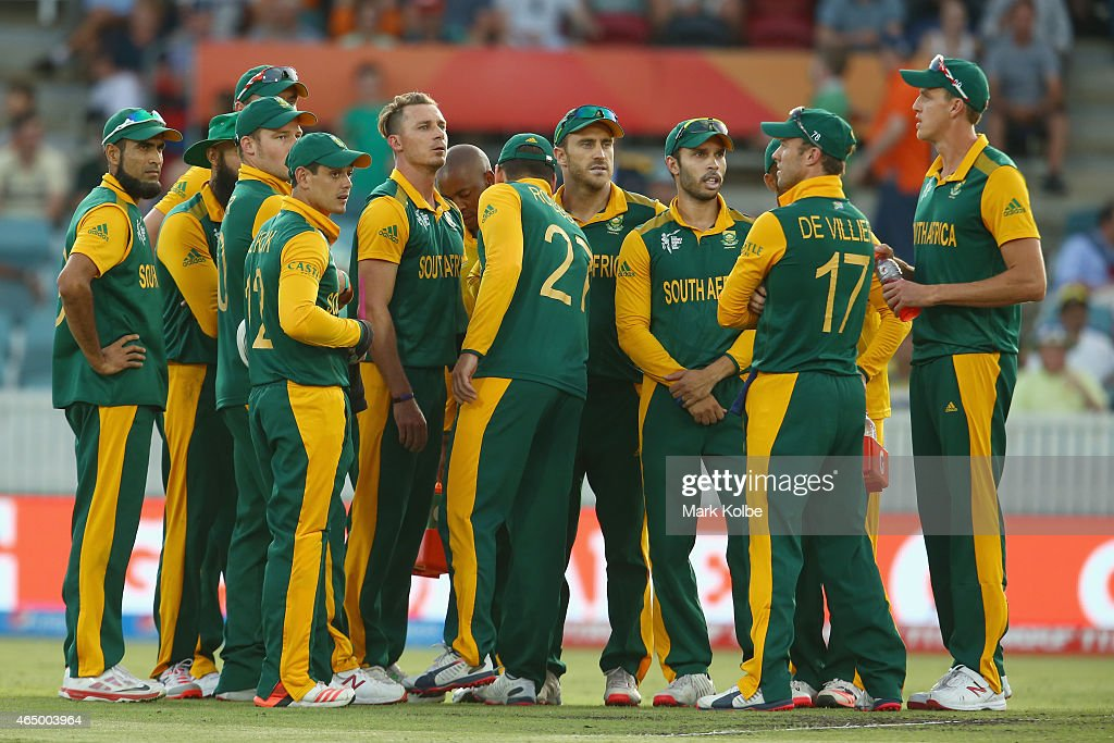 South Africa v Ireland - 2015 ICC Cricket World Cup : News Photo