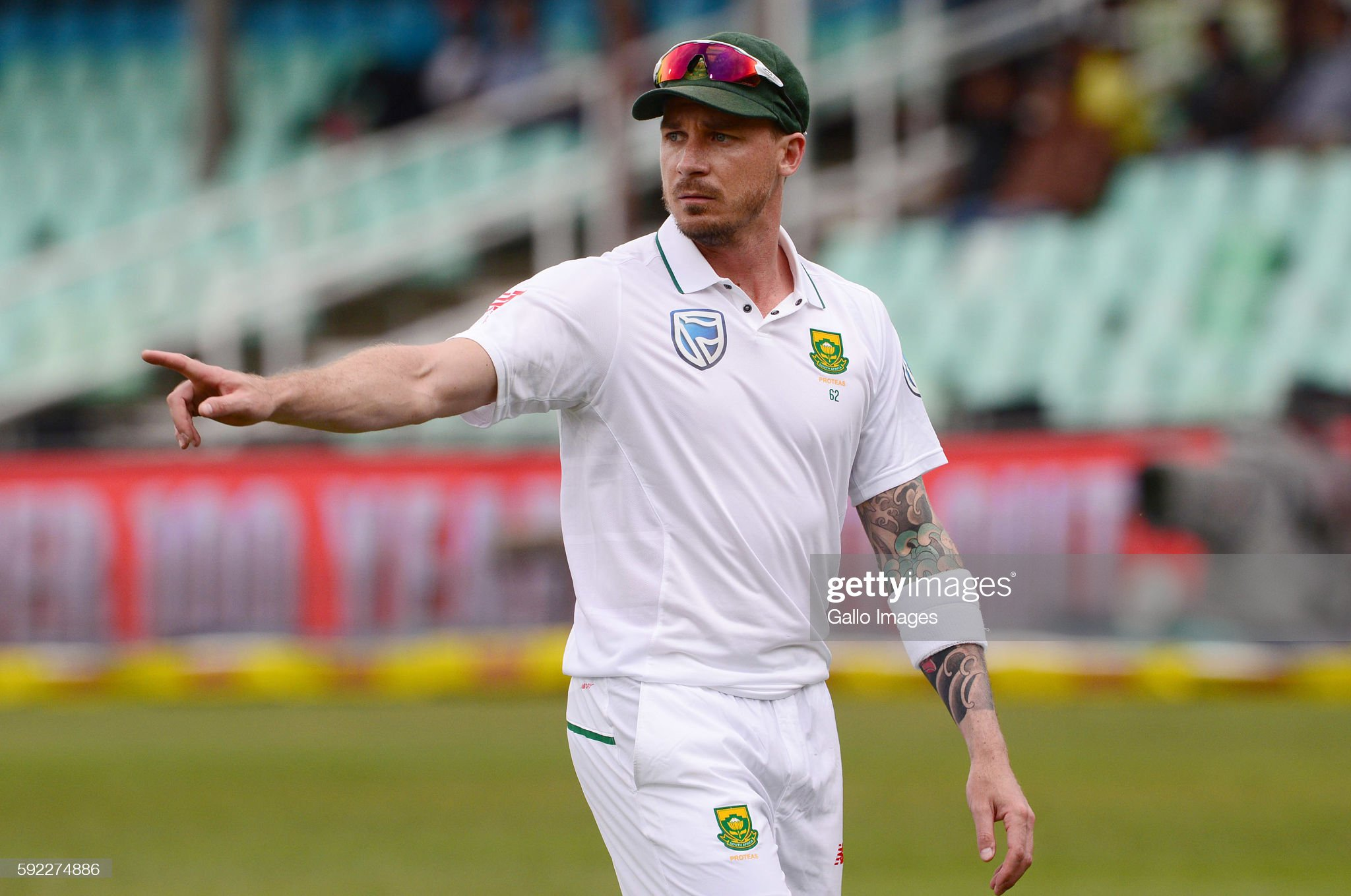 1st Sunfoil International Test: South Africa v New Zealand - Day 2 : News Photo