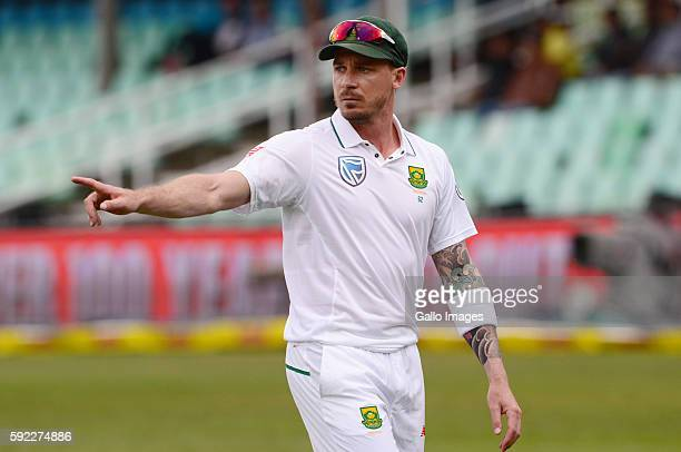 Dale Steyn of the Proteas during day 2 of the 1st Sunfoil International Test match between South Africa and New Zealand at Sahara Stadium Kingsmead...