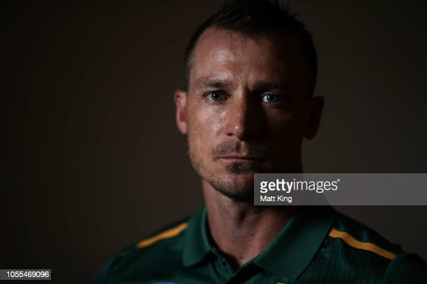 Dale Steyn poses during the South Africa ODI / T20 headshots session on October 30 2018 in Canberra Australia