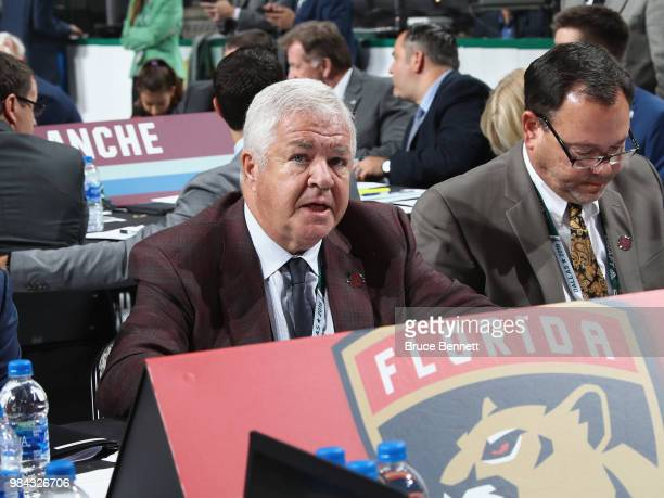 Dale Tallon attends the 2018 NHL Draft at American Airlines Center on June 23, 2018 in Dallas, Texas.